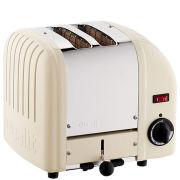 Dualit Classic Vario 2 Slot Toaster Utility Cream