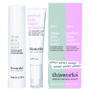 This Works Cleanse and Moisturise Collection