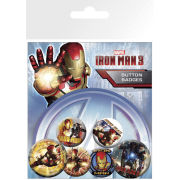 Iron Man 3 Movie - Badge Pack