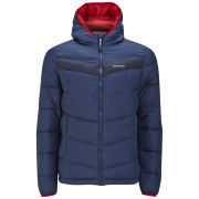 Craghoppers Men's Danby Hooded Insulated Jacket - Navy/Red