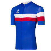 Le Coq Sportif Performance Ares Short Sleeve Jersey - Tricolore