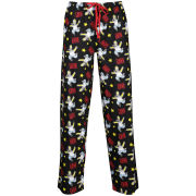 Homer Simpson Men's Love Machine Loungepants - Black