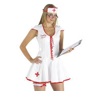 Naughty Nurse PVC Uniform - M M