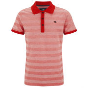 Jack & Jones Men's Floor Polo Shirt - Flame Scarlett