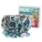 Save The Blow Dry Shower Cap - Turquoise Combs
