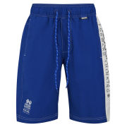 Crosshatch Men's Oplents Swim Shorts - Dark Blue