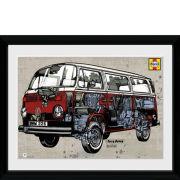 VW Haynes Campervan - 30x40 Collector Prints