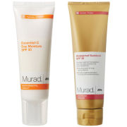 Murad Oil-Free Sunscreen Spf 30 (50ml) + Essential C Day Cream Spf30 (50ml)