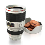 Camera Lens Cup - White