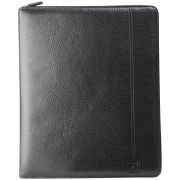 Calvin Klein Men's Philippe Pebble Leather iPad Case - Black