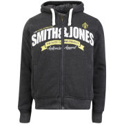 Smith & Jones Men's Cepheus Borg Lined Hoody - Charcoal