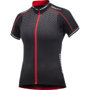 Craft Women's Performance Bike Glow Jersey - Black/Red/White