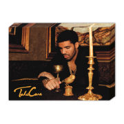 Drake Take Care - 40 x 30cm Canvas