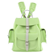 Grafea Medium Leather Rucksack - Apple Crumble