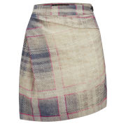 Vivienne Westwood Anglomania Women's Isolation Tartan Skirt - Grey