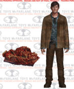 The Walking Dead TV Version Actionfigur Gareth  Serie 7