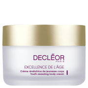 Decleor Excellence De L'Age Youth Revealing Body Cream (200ml)