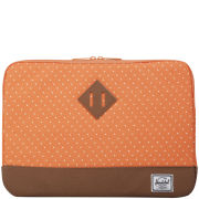 Herschel Heritage Macbook Air/Pro 13 Inch Sleeve - Orange Polka Dot