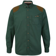 Tokyo Laundry Men's Asher Cord Patch Shirt - Green Gables