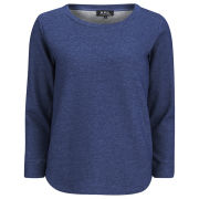 A.P.C. Women's Denim Sweatshirt - Indigo