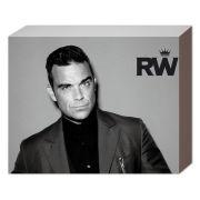 Robbie Williams Suit - 50 x 40cm Canvas
