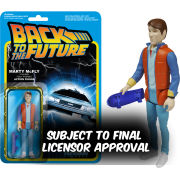 ReAction Back to the Future Marty McFly 3 3/4 Inch Action Figure - New