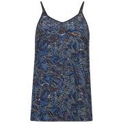 Vero Moda Women's Aya Paisley Cami Top - Blue