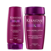 Kérastase Reflection Bain Chroma Captive (250ml) and Reflection Fondant Chromacaptive (200ml) Bundle