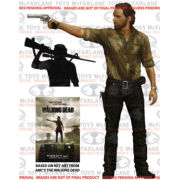 Walking Dead Rick Grimes Deluxe 10 Figure