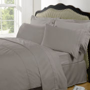100% Egyptian Cotton Plain Dyed Duvet Cover and Pillowcases - Portobello