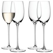 LSA White Wine Glass 340ml Clear (Set of 4)