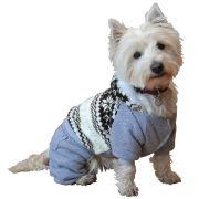 Pawsie Classic Dog Onesie - Grey