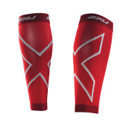 2XU Men's Compression Calf Sleeves - Red