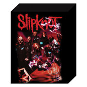Slipknot Band Red - 50 x 40cm Canvas