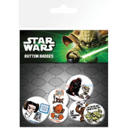 Star Wars Characters - Badge Pack