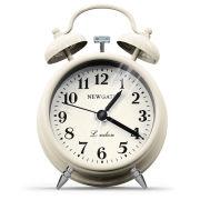 Newgate Miniature Bell Alarm Clock - Linen White