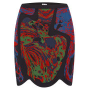 M Missoni Women's Knitted Mini Skirt - Nero
