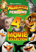 Penguins of Madagascar/Madagascar 1-3 Box Set