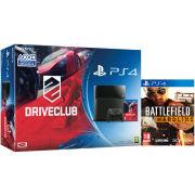 Sony PlayStation 4 500GB Console - Includes Driveclub & Battlefield: Hardline
