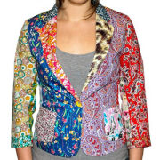 Foul Fashion Women's Blazer - Multi