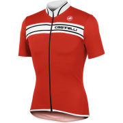 Castelli Men's Prologo 3 SS FZ Cycling Jersey