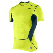 Nike Men's Hypercool Compression Short Sleeve Top 2.0 - Volt Green