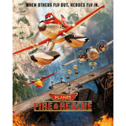 Disney Planes Fire and Rescue Bridge - Mini Poster - 40 x 50cm