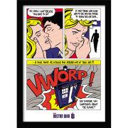 Doctor Who Pop Art Framed Print (30x40)