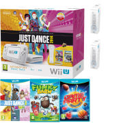 Nintendo Wii U Console - Includes 5 Kids Games + 3 Controllers