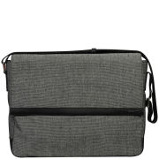 Calvin Klein Men's Benson Canvas Messenger Bag - Grey