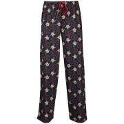 Family Guy Men's Pete Printed Loungepants - Black