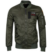 Ringspun Men's Flight Jacket - Khaki