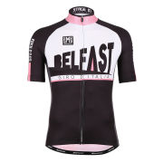 Giro d'Italia 2014 Stage 1 Belfast Short Sleeve Full Zip Jersey - Black