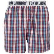 Tokyo Laundry Men's Jack Rabbit Woven Boxers - Red